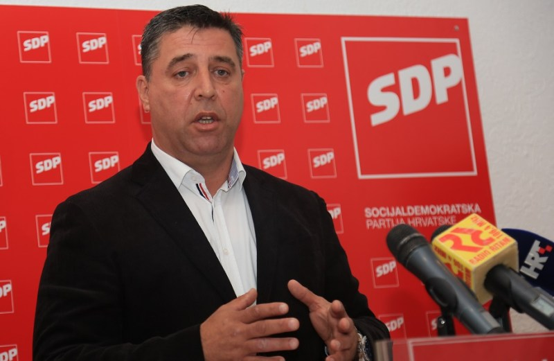 Na listi kandidata za Sabor, šibensko-kninskog SDP-a, nema Franka Vidovića ( ?! )