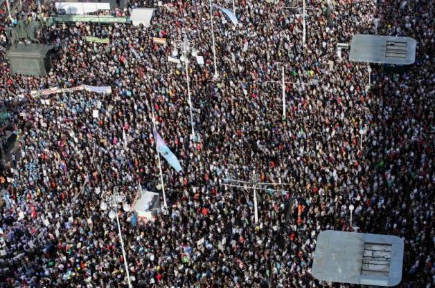 Prosvjed (foto HINA Lana Slivar Dominić)