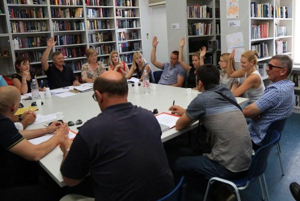 Glasovanje (Foto: H. Pavić)