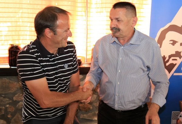 Enio Turčinov i Pero Ćorić (Foto: Tris/H. Pavić)
