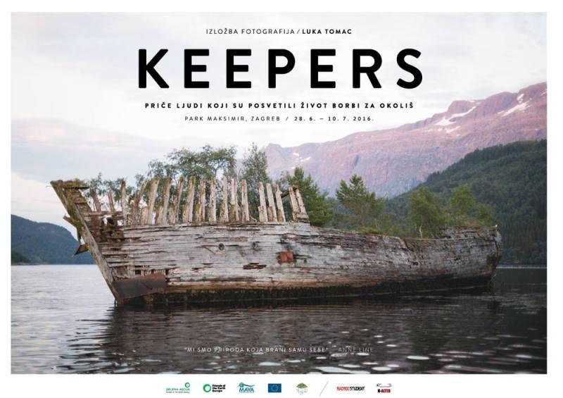 'Keepers' Luke Tomca: Izložba o čuvarima i zaštitnicima koji su život posvetili borbi za okoliš