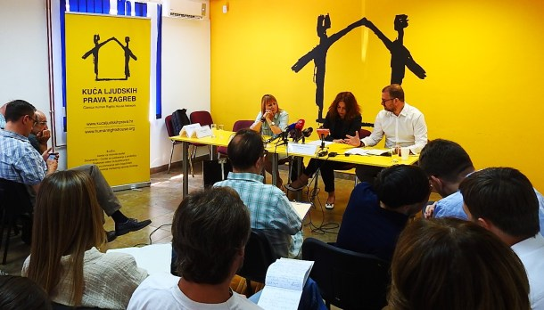 Blažević, Bartolović i Jakovčić u Kući ljudskih prava (foto TRIS/G. Šimac)