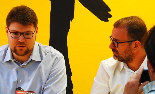 Grbin i Jakovčić  (foto TRIS/G. Šimac)
