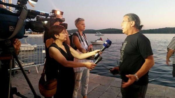 Zoran Lučić Luca pola sata prije spektakla