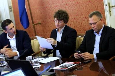 Trio kojega će hrvatska javnost brzo zaboraviti, za razliku od Kolak, Fantele, Marenića itd. (foto HINA/Lana Slivar Dominić)