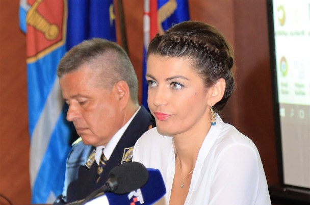 Josipa Rimac na konferenciji za novinare Odbora za organizaciju proslave (Foto: Tris/H. Pavić)