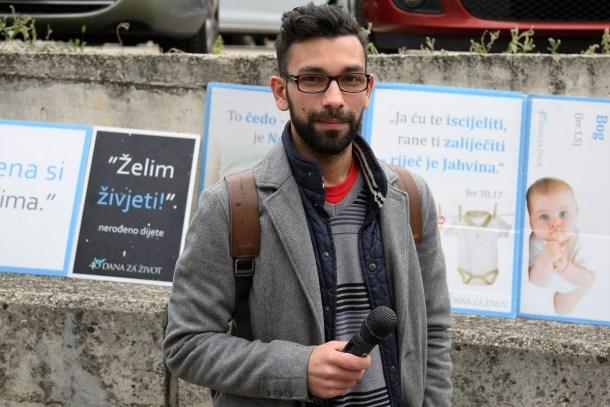 'Želim snimati' - Valerio Baranović danas se vratio 'na mjesto zločina' (Foto: Tris/H. Pavić)