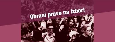 """Inicijativa """"Obrani pravo na izbor"""" daje podršku današnjem poljskom """"crnom ponedjeljku"""", odnosno općem štrajku žena u Poljskoj"""