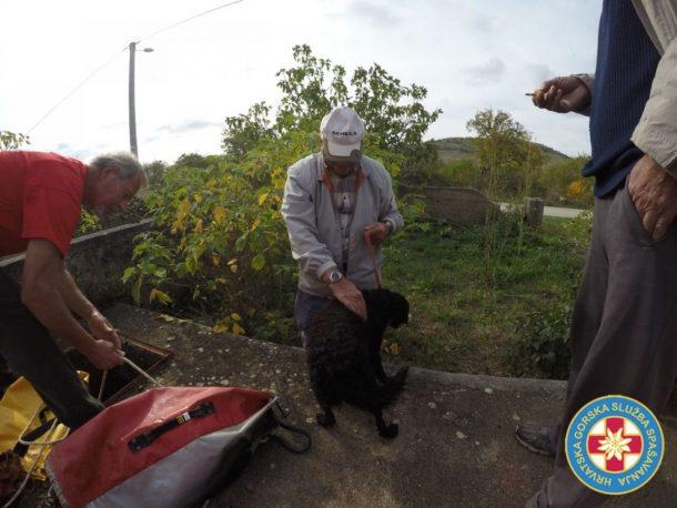 Gašu Petru vratili neozlijeđenog (Foto: HGSS)