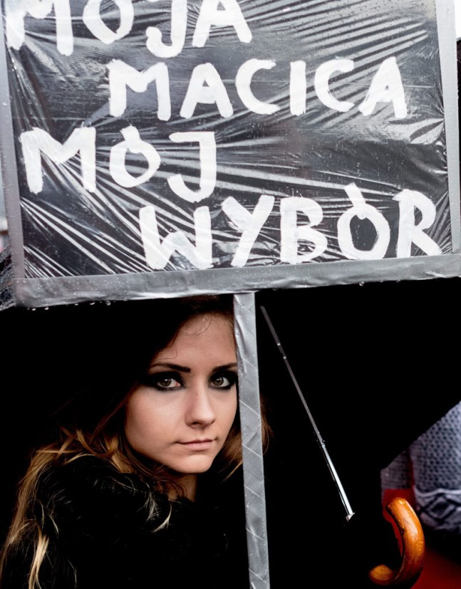 'Black Monday' nationwide women strike