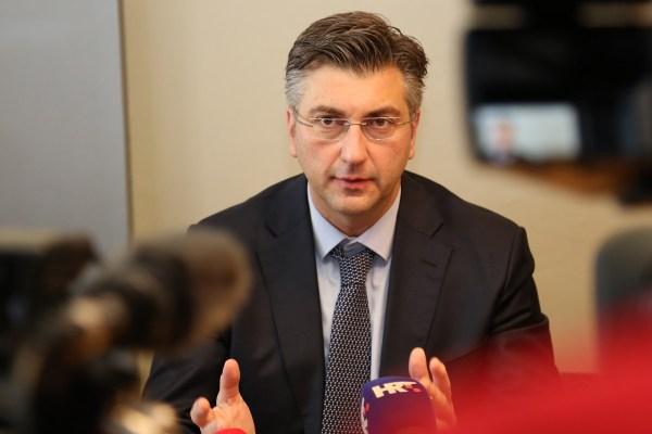 Andrej Plenković (Foto: Tris/H. Pavić)