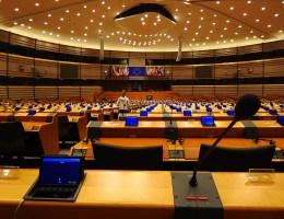 Prazan Europski parlament u utorak u podne, nešto poput Hrvatskog sabora