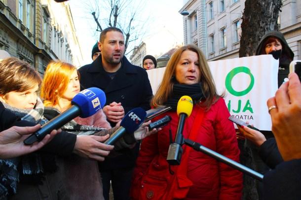 Jutrošnja akcija Zelene akcije u Gajevoj ulici u Zagrebu (foto ZA)