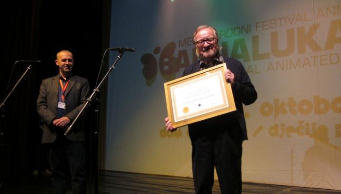 Borivoju Dovnikoviću Bordi u Banjaluci dodijeljena Nagrada za životno djelo