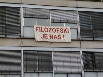 Studentski zbor Filozofskog fakulteta: Samovolja Studentskog zbora Sveučilišta u Zagrebu je krajnje sramotna i neprihvatljiva