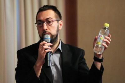 Arhiva: Tomislav Tomašević na konferenciji o vodama (Foto: Tris)