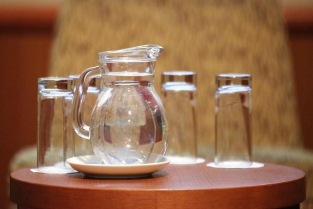 Pitka voda bi se na svim konferencijama trebala posluživati ovaku, u staklenoj umjesto plastičnoj ambačaži (Foto: Tris/H. Pavić)