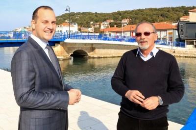 Ivan Klarin i Miljenko Meštrov predstavili su kandidaturu na tišnjanskom mostu (Foto: Tris/H. Pavić)
