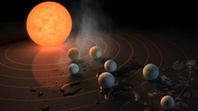 Planete na kojima je možda moguć život, kao i u Hrvatskoj (ilustracija NASA)