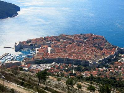 Dubrovnik s brda