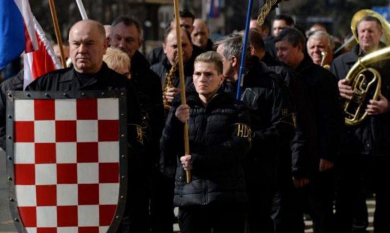 Crnokošuljaši ponovo marširaju Zagrebom