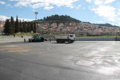 Uređenje malonogometnog i košarkaškog igrališta SC Ljubica u Crnici