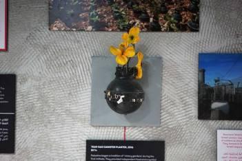 Suzavac bomba iz koje raste cvijeće (foto banksy.co.uk)