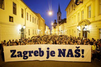 Zagreb je naš!: Vratimo Zagreb u svoje ruke! (proglas)