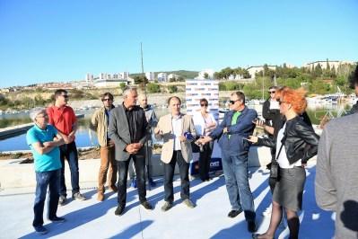 Konferencija za novinare Mosta u Mandalini (Foro: Tris/H. Pavić)