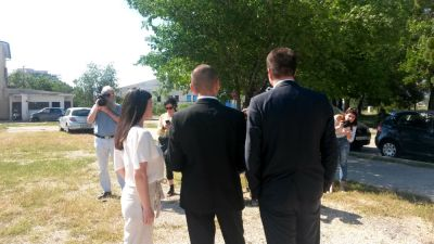 HRAST/HKS u zoni TEF-a: Valentina Jurin, Hrvoje Zekanović i Nikica Pendžer (Foto: TRIS)