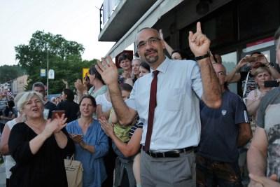 Novi gradonačelnik Knina Marko Jelić (Foto: Tris/H. Pavić)
