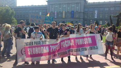 16. Zagreb Pride:  Štromar došao pokazati nove vrijednosti Vlade