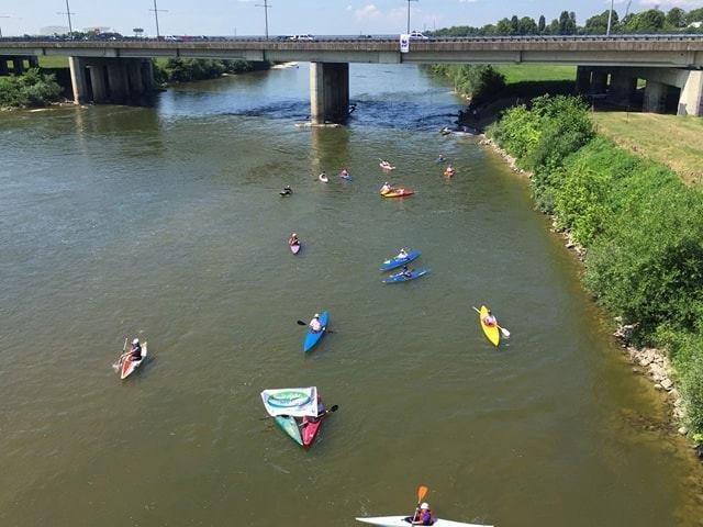 """Kampanja """"Naše rijeke, naše blago"""":Veslajmo za naše rijeke!"""