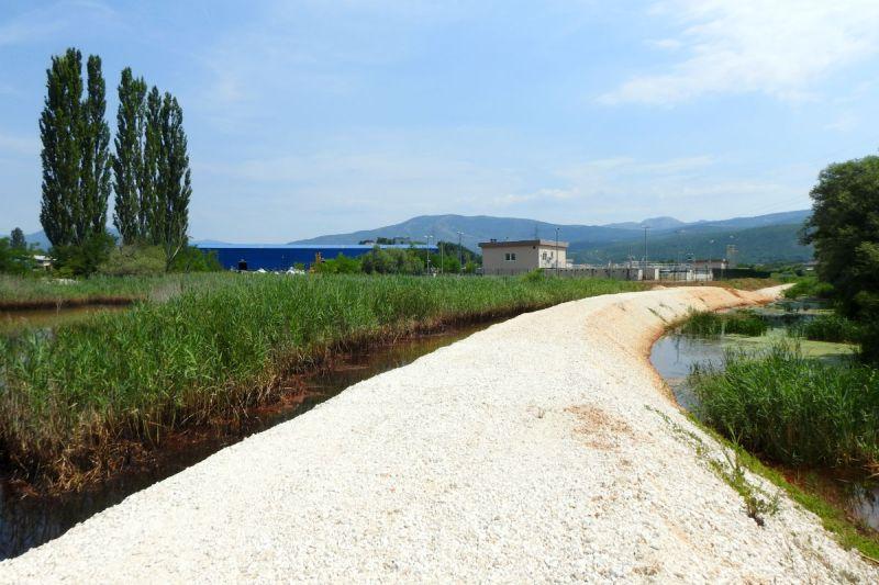Građani Knina danas su alarmirali gradsku upravu zbog onečišćenja rijeke Orašnice