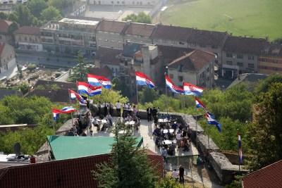 Knin jutros (foto TRIS/H. Pavić)
