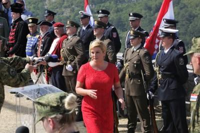 Predsjednica u Kninu izrazila žaljenje zbog srpskih žrtava u 'Oluji'