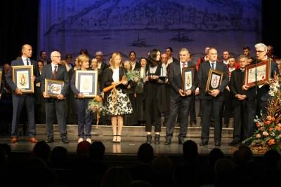 Dobitini priznanja i nagrada Grada Šibenika (Foto: TRIS/Jozica Krnić)