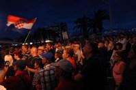 Mnoštvo na splitskoj rivi(Foto: TRIS/G. Šimac)