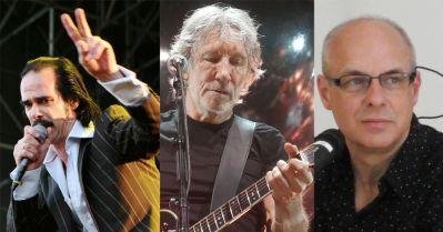 Nick Cave, Roger Waters i Brian Eno (Foto: Wikipedia)