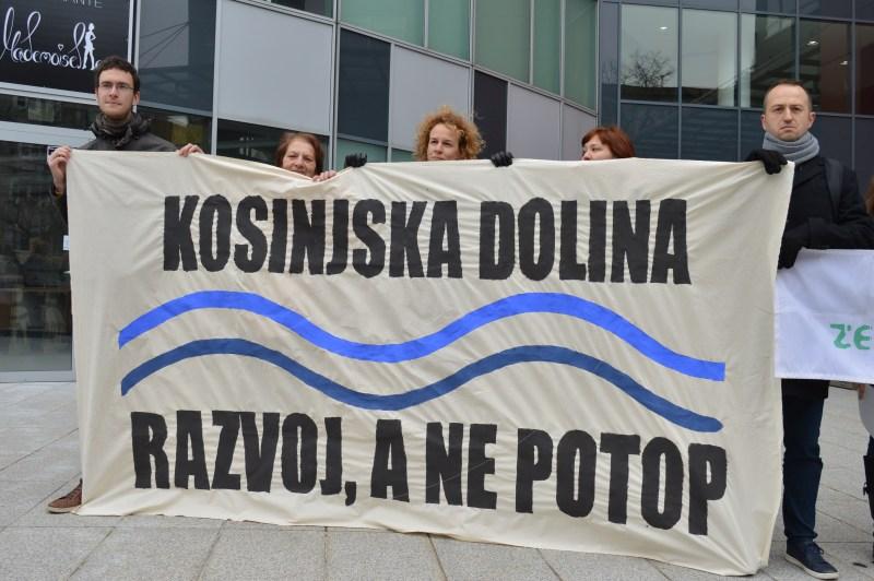 S prosvjeda (foto Zelena akcija)