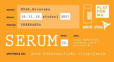 Festival Serum: Anti-hibernacijsko cijepljenje na Hvaru
