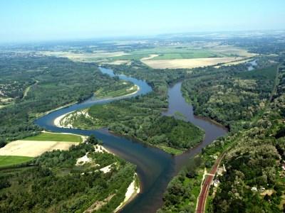 Ušće Mure u Dravu/Foto:WWF/Dubravko Lesar