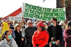 Arhiva: Prosvjed u Splitu- foto TRIS/G. Šimac