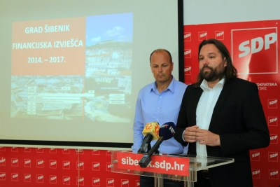 Šibenski SDP upozorava: Grad Šibenik dužan je svima, a sve će na kraju skupo platiti građani