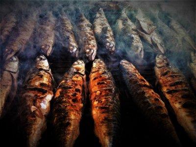 Ilustracija: pečene ribe (Foto TRIS/G. Šimac)