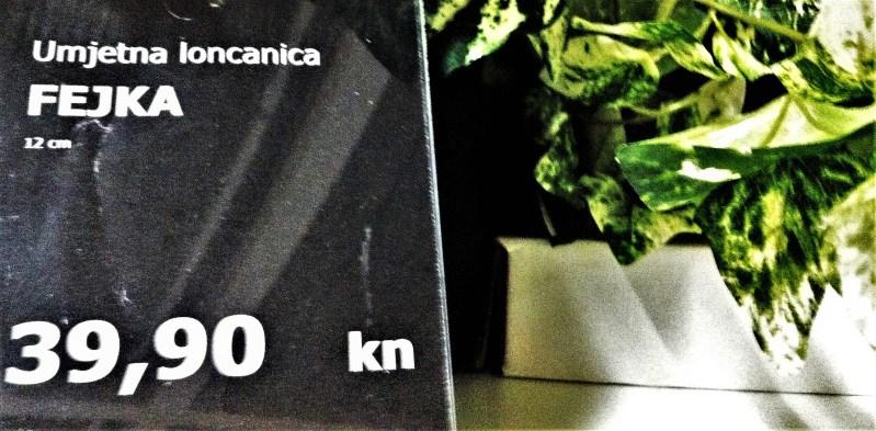Ikea i Fejka: Stop jednokratnoj plastici do 2020., ali i prodaja plastičnih fikusa 'koji izgledaju svježe iz godine u godinu'