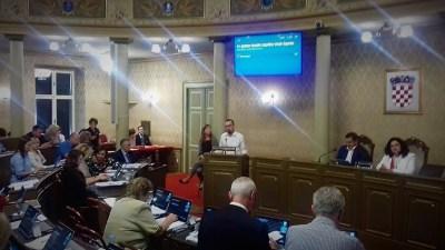 S današnje zagrebačke Gradske skupštine (foto Facebook)