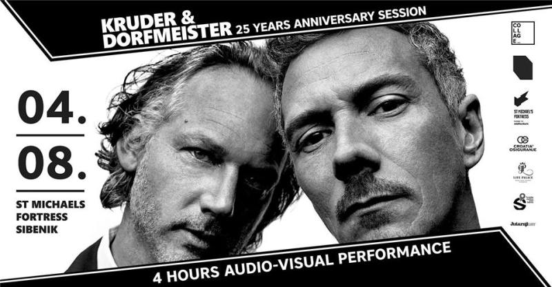 Večeras oluja na šibenskoj tvrđavi: Kruder & Dorfmeister, pa Helmut Josef Geier zvani DJ Hell