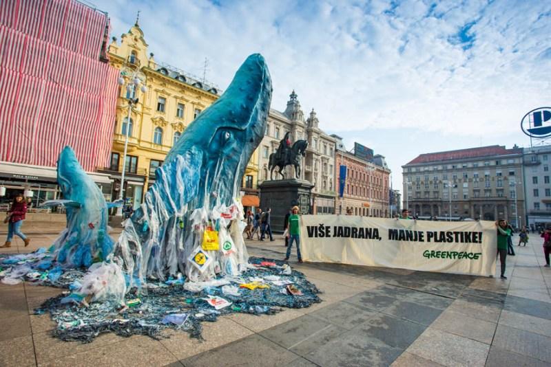 Greenpeaceov apel iz morskih dubina: Tražimo stvarne korake za rješavanje krize onečišćenja plastikom