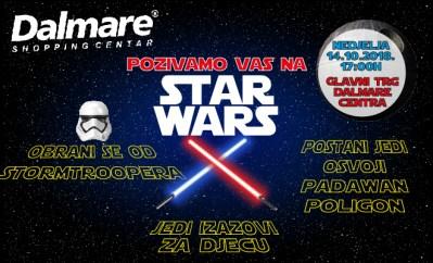 Vesele nedjelje: StarWars i Superheroji u Dalmare centru